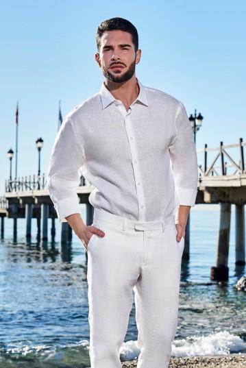 Camisa ibicenca de Lino Begur
