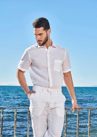 Camisa ibicenca de Lino Zahara