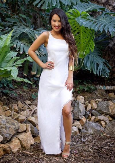 Vestido Ibicenco Samaná bordado a mano